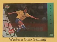 1994 World Cup USA Dunga #HS4 Hot Shots Soccer Card