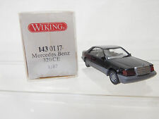 eso-3929Wiking 1:87 Mercedes 320 CE schwarz sehr guter Zustand