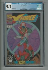 X-Force #2 CGC 9.2 NM- 2nd Appearance of Deadpool Marvel September 1991 Cable