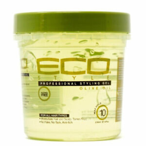 ECO Professional Olive Oil Styling Gel Maximum Hold For All Hair Types 8 oz