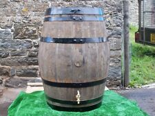 "50 gallon oak barrel water butt with 1/2"" brass tap"