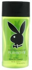 Sexy Hollywood by Playboy for Men Shower Gel & Shampoo 8.4oz NEW