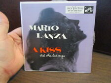 "MARIO LANZA - A KISS And Other Love Songs - RCA Victor - 2 - 7"" Disc Set - 45 EP"