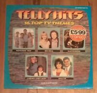 Various ‎– Telly Hits Vinyl LP 33rpm Compilation 1985 BBC ‎– BBSR 508