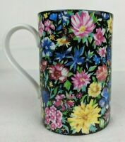 Vintage Dunoon Stoneware Decorative Flower Cup Mug Collectible Made in Scotland