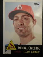 2016 Archives Baseball 5x7 Set Break 1953 Design #/49 Randal Grichuck Cardinals