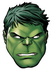 HulkMarvel The Avengers Einzeln Spaß Karten Party Gesichtsmaske Superheld
