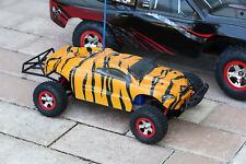 Custom Body Tiger Style for Traxxas 1:16 Slash / e-Revo 1/16 Scale e Revo