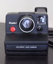 Vintage Polaroid Pronto Land Camera  Instant Film Camera, Black