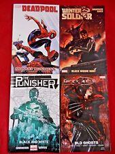 Lot of 4 Marvel;Winter Soldier V3-1st Pr,Punisher V1-2nd Pr,X-Force V2,Deadpool