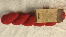 Aslan Trends King Baby Llama & Mulberry Silk 100g #2077 Cardinal Red