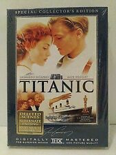 Titanic Special Collector's Edition 1997 Widescreen DVD Brand New