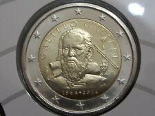 ITALIA 2 EURO 2014 - CONM. GALILEO GALILEI - SIN CIRCULAR