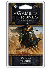 LLAMADO to Arms Capítulo Pack para A Game Of Thrones 2º Edición