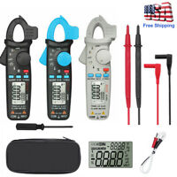 New Bside ACM91 TRMS AC/DC Clamp Meter 6000 Counts Current Frequency Temperature