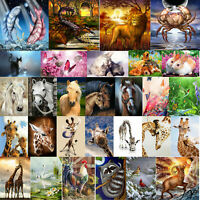 5D DIY Diamond Painting Animal Full Drill Embroidery Animal Picture Cross Stitch
