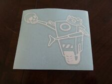 Hamlet Claptrap - Borderlands Vinyl Decal sticker
