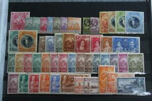BARBADOS Collection of 75+ Stamps Early Issues to QEII MINT and Used