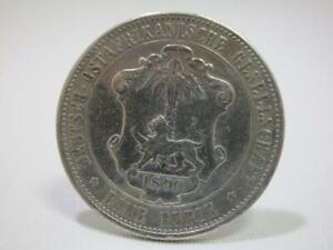 Silbermünze - Deutsch-Ostafrikanische Gesellschaft 1 Rupie 1890 - VZ  AS3041
