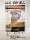 ROBERT MOTHERWELL Arc II 63 x 47.25 Offset Lithograph 1977