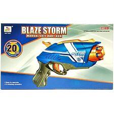 Blaze Storm doux Dart pistolet avec 20 Fléchettes inclus-Fun Jouet d'été en plein air