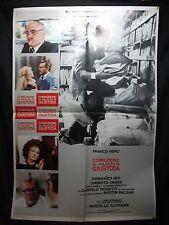 MANIFESTO CINEMA - CORRUZIONE AL PALAZZO DI GIUSTIZIA - 1975 - DRAMMATICO - 01