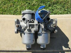 76-79 Rolls Royce Silver Shadow II OEM Pair of SU Carburetor FZX1232 L410 JP