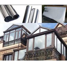 """Folie Spiegel Silber Isolierung Solar reflektierende Aufkleber 78.7""""X19.6"""""""