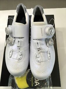 Shimano RC901 S-PHYRE Carbon Cycling Shoes - White, EU41, Used, Nice!