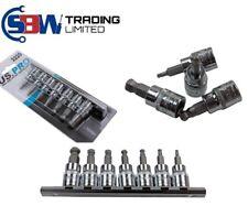 "US PRO Tools 7pc 3/8"" dr Ball End Hex / Allen Bit Sockets, Rail Sockets Set 2220"