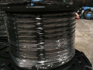 "3/4"" x 154 ft EPDM Bulk Multipurpose Air Hose 200 psi BK- 1 PC no cuts"