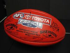 Collingwood - 2010 Premiership team signed official Grand Final ball - Panasonic