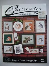 Cattitudes - The Eighth Litter - Jeanette Crews - Cross Stitch Pattern Book