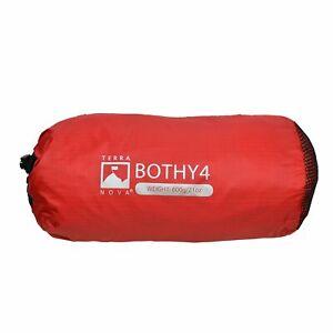 Terra Nova Bothy 4 Bag Survival Shelter - 4 Person Red