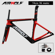 Clycling carbon racing bike frame 54cm 3K Matt bicycle frameset/fork/seatpost