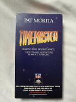 TIMEMASTER (VHS 1995) (OOP) SCREENER PROMO PAT MORITA 1ST printing HTF MINT COND