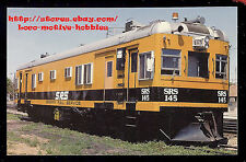 LMH Postcard  SPERRY RAIL SERVICE Doodlebug MOW Railcar SRS 145 TRACK INSPECTION
