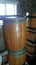 200L Recycled Solid Oak Whisky Barrels   Kegs   Planters   Storage   Patio Table
