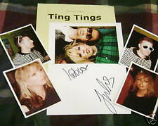 TING TINGS/Band/AutogPhoto&Photos/- HOT