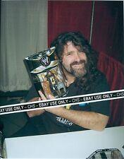 MICK FOLEY CACTUS JACK MANKIND SHARP COLOR CANDID 8x10 PHOTO WWF WWE WRESTLER