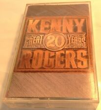 20 Great Years by Kenny Rogers (Cassette, Nov-1991, Reprise)