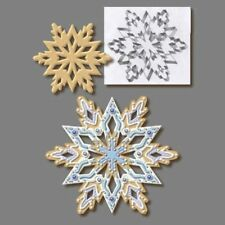1pc Large Christmas Snowflake Cookie Cutter Mold Stainless Steel Pastry Biscuit