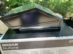 """NEW BROAN NuTONE 634M ROOF CAP 6"""" ROUND DUCT  BLACK"""