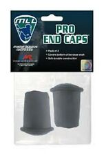 New A&R Major League Lacrosse Licensed 2 Pack Pro Stick Shaft Rubber End Caps