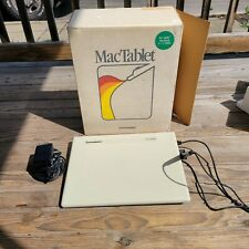 RARE Vtg MacTablet For Apple Macintosh In Box By Summagraphics WOW!