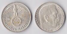 C00924 Deutsches Reich 5 Reichsmark 1938 A, top Erhaltung / Silber