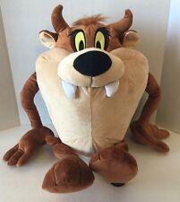 "The Looney Tunes Show Large 20"" tall Tazmanian Devil Plush Stuffed Taz"