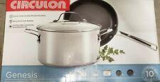 Circulon Genesis Stainless Steel 10 Piece Nonstick Cookware Set