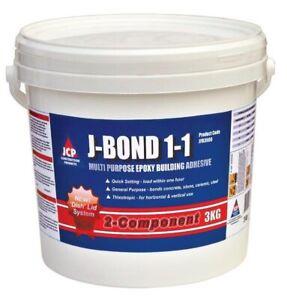 J-Bond All Purpose Epoxy Building Adhesive 3kg