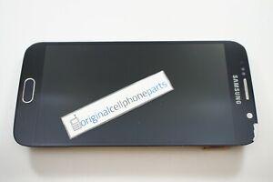 OEM Samsung Galaxy S6 SM-G920T LCD Digitizer Frame BURN IN BLEMISHED LENS
